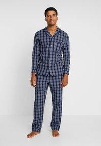 Pier One - Pijama - dark blue - 0