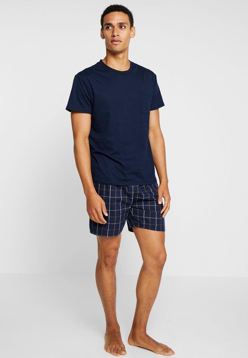 Pier One - Pyjamaser - bordeaux/dark blue