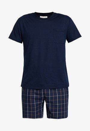 Pijama - bordeaux/dark blue
