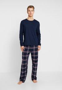 Pier One - LONG SLEEVE - Pyjama - dark blue - 0