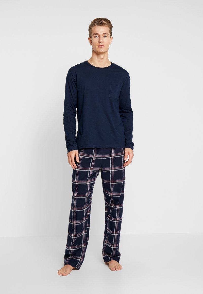 Pier One - LONG SLEEVE - Pyjama - dark blue