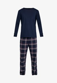 Pier One - LONG SLEEVE - Pyjama - dark blue - 4