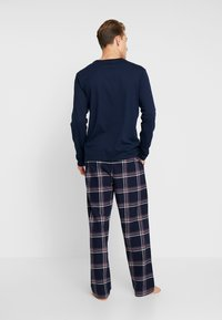 Pier One - LONG SLEEVE - Pyjama - dark blue - 2