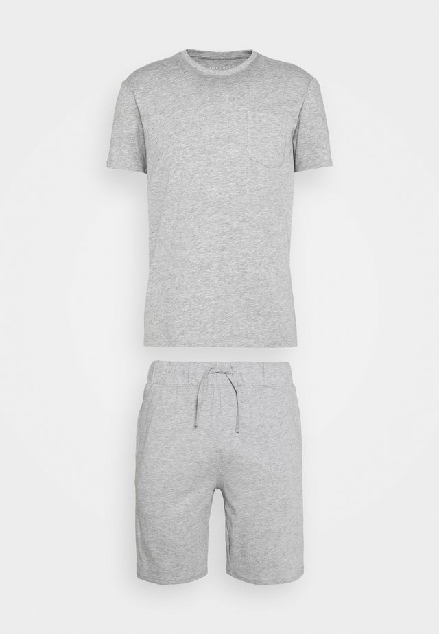 SET - Pyjamaser - mottled grey