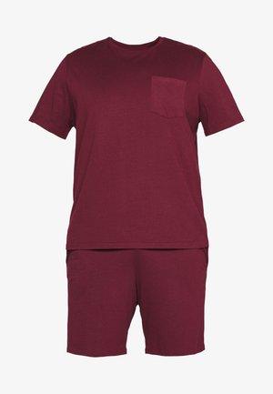 SET - Pyjama - bordeaux