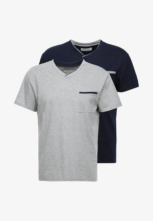 Pyjamapaita - grey/dark blue
