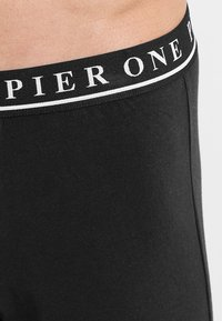 Pier One - 7 PACK - Pants - black - 3