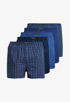 5 PACK - Bokserki - blue