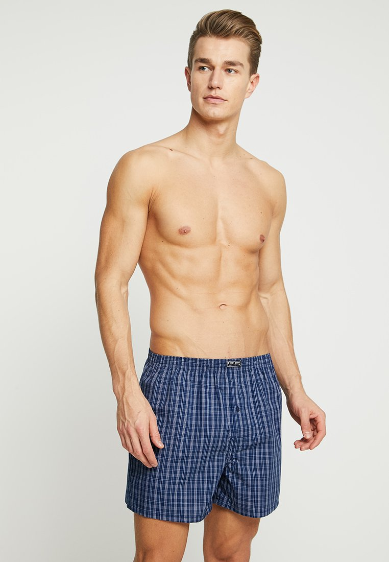 Pier One - 5 PACK - Boxershort - blue