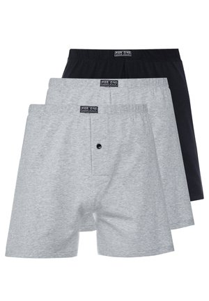 3 PACK - Bokserit - light grey/black