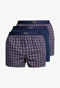 Pier One - 3 PACK - Boxer - blue - 3