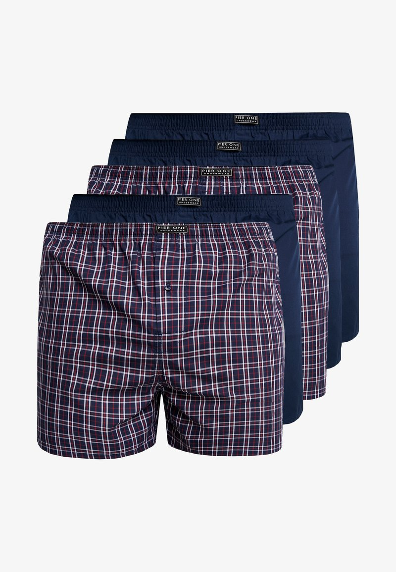 Pier One - 5PACK - Boxershort -  blue