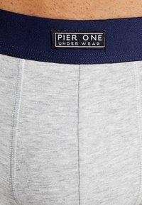 Pier One - 5 PACK - Underkläder - blue/grey/green - 4