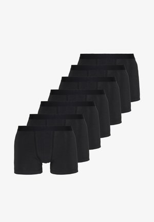 7 PACK - Pants - black