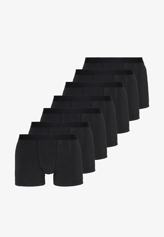 7 PACK - Bokserit - black