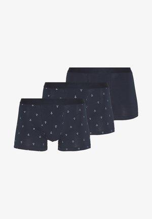 3 PACK - Onderbroeken - dark blue/mottled grey