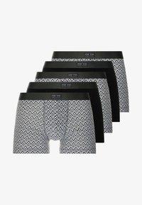 Pier One - 5 PACK - Onderbroeken - grey/black - 3