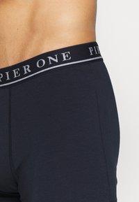 Pier One - 5 PACK - Panty - dark blue/mottled grey - 4