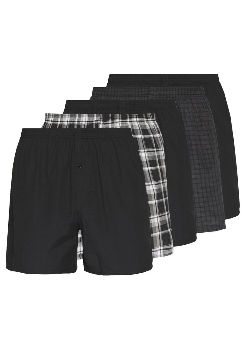 Pier One - 5 PACK - Boxershort - black