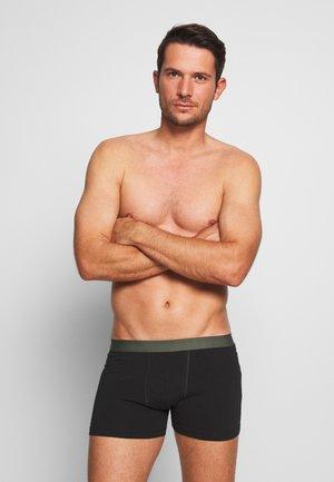5 PACK - Panties - black/khaki