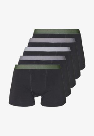 5 PACK - Pants - black/khaki