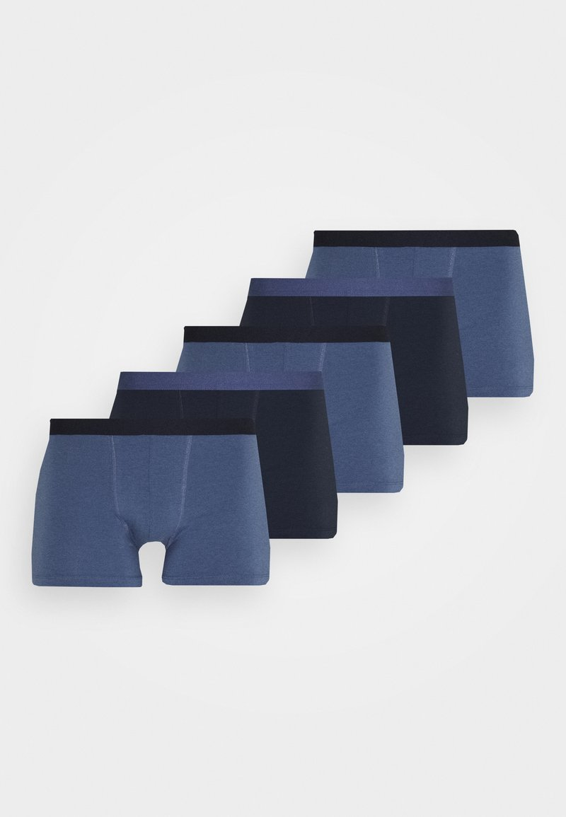 Pier One - 5 PACK - Boxerky - blue/dark blue