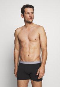 Pier One - 5 PACK - Underkläder - black/mottled grey - 0