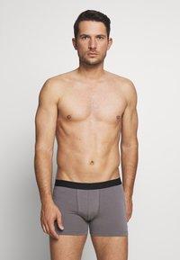 Pier One - 5 PACK - Underkläder - black/mottled grey - 2