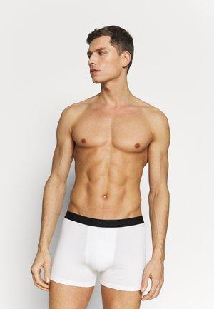 5 PACK - Underkläder - black/mottled grey