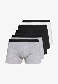 Pier One - 5 PACK - Underkläder - black/mottled grey - 4
