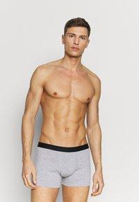 Pier One - 5 PACK - Underkläder - black/mottled grey - 3