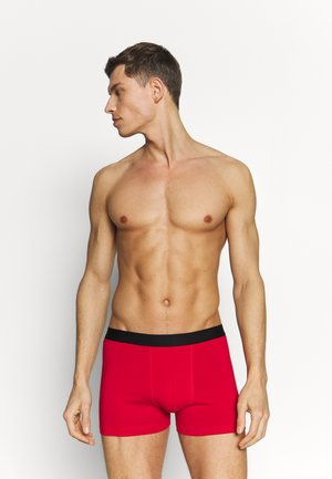 5 PACK - Boxerky - black/red