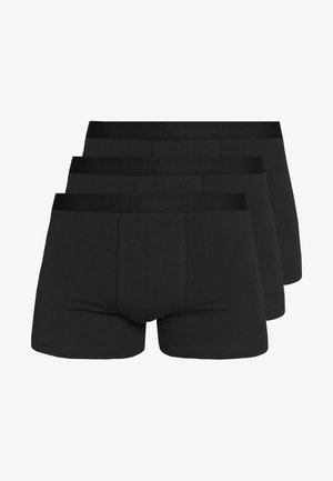 3 PACK - Shorty - black/black/black