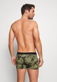 Pier One - 3 PACK - Shorty - black/green - 1
