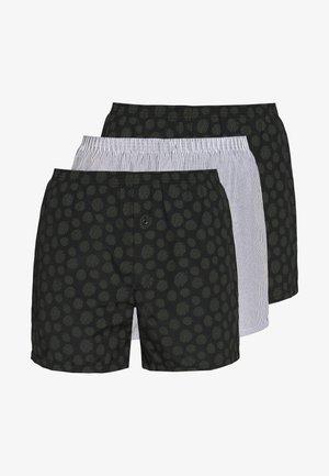3 PACK - Boxershorts - khaki/black
