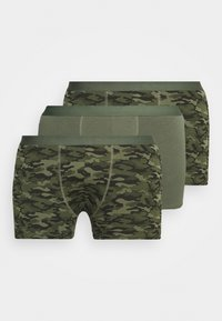 Pier One - 3 PACK - Shorty - khaki - 0