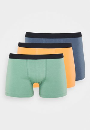 3 PACK - Shorty - blue/orange