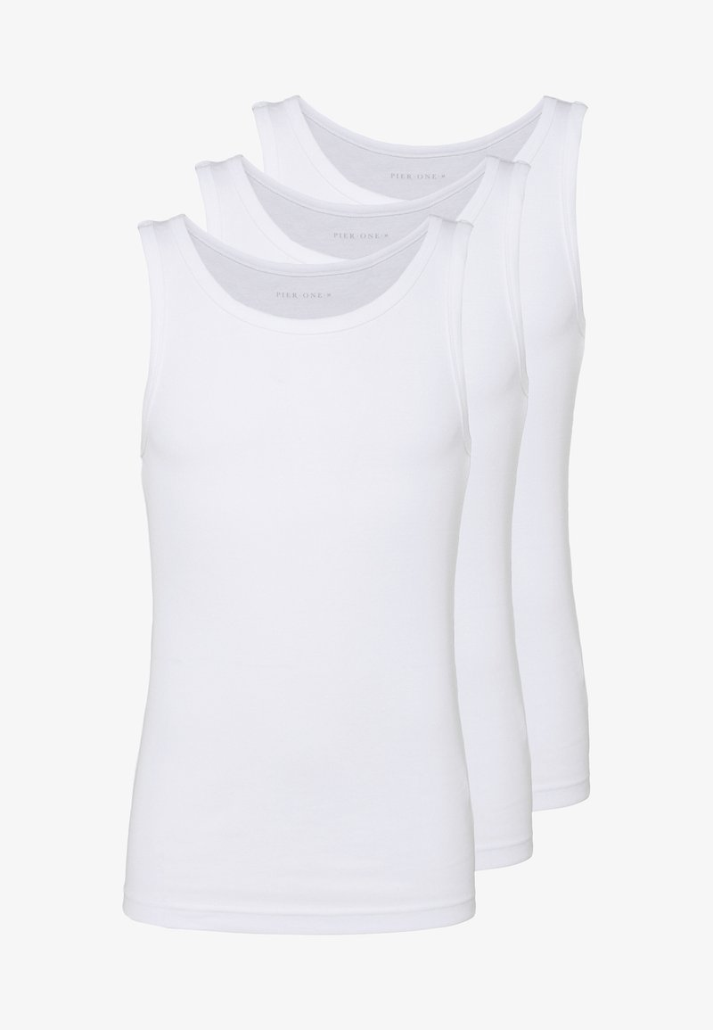 Pier One - 3 PACK - Undershirt - white
