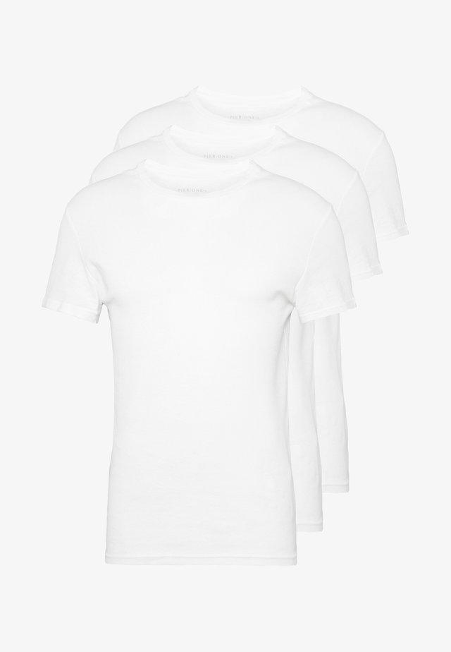 3 PACK - Undertrøjer - white