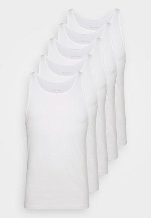 5 PACK - Undershirt - white