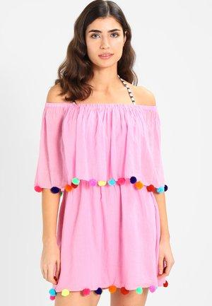 POM POM FESTIVAL DRESS - Doplňky na pláž - light pink