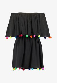 Pitusa - POM POM FESTIVAL DRESS - Strandaccessoire - black - 5