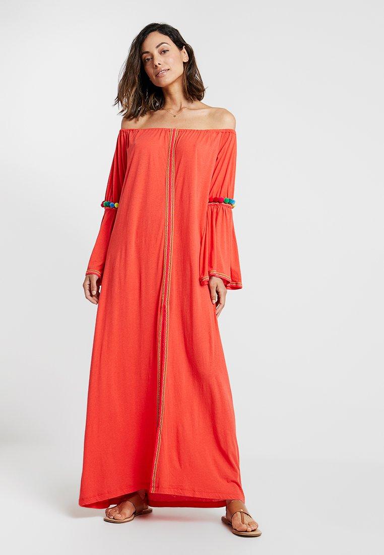 Pitusa - GYPSY DRESS - Strandaccessoar  - blood orange