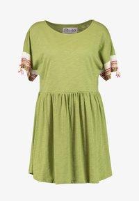 Pitusa - LITTLE LAMA DRESS - Beach accessory - olive - 4