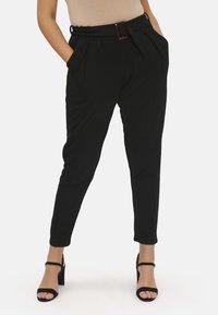 Pink Clove - Trousers - black - 0