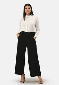 Pink Clove - BUCKLE - Trousers - black - 1