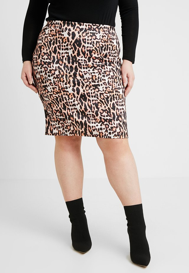 PRINT PENCIL SKIRT - Pencil skirt - multicoloured
