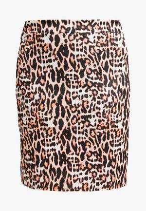 PRINT PENCIL SKIRT - Pouzdrová sukně - multicoloured