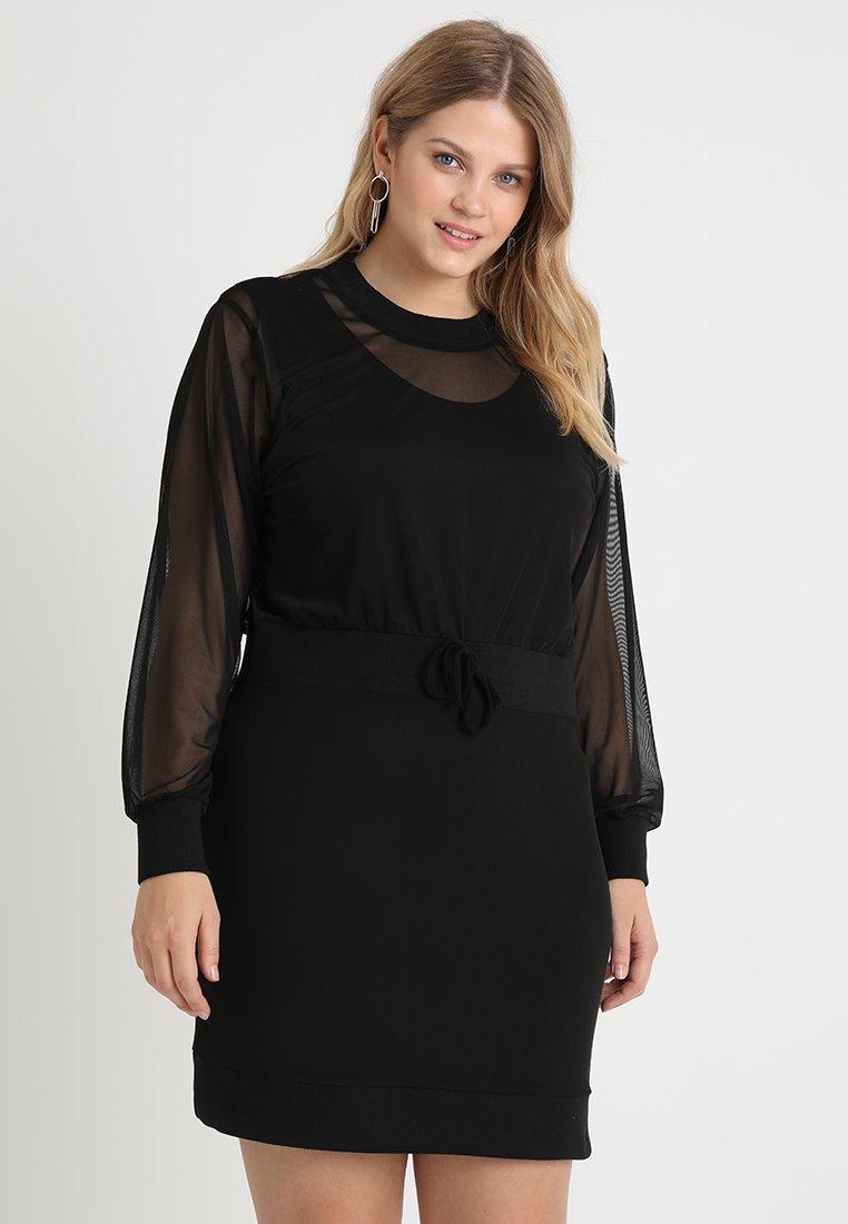 Pink Clove - SPORTY DRESS - Day dress - black