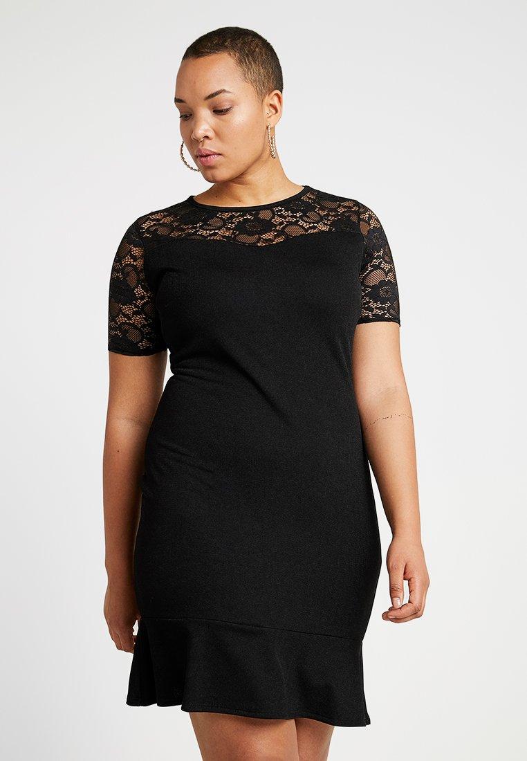 Pink Clove - DRESS - Jerseyklänning - black